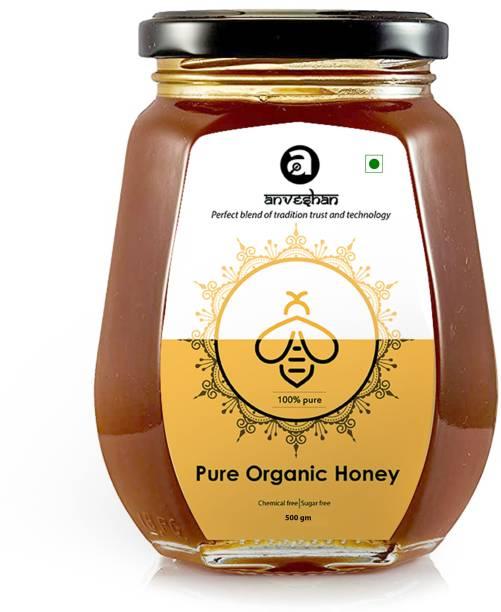 Anveshan Raw Organic Multi-Floral Honey ( Ayurvedic Immunity Booster )