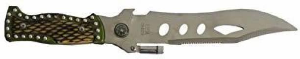 New Mehta enterprise M 0214 Knife, Fixed Blade Knife, Campers Knife