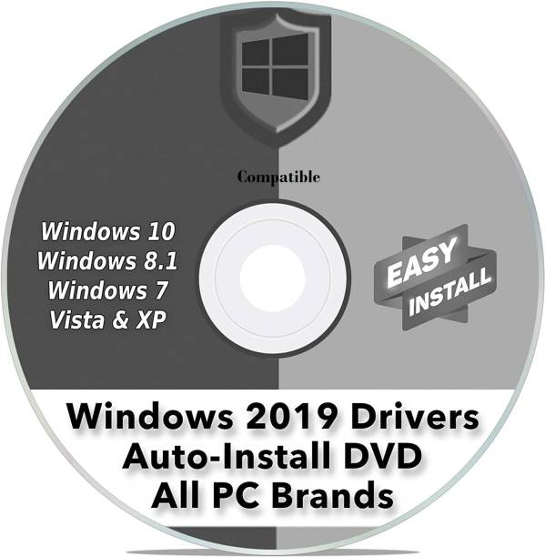 Compatible DVD for Windows Driver Installation Automatic Install Software for ANY PC Computer Easy Update Disc