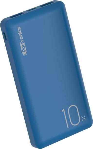 Portronics 10000 mAh Power Bank (10 W, Fast Charging)
