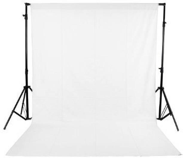 Hanumex White 8X 10.5 Feet Backdrop Lycra Background Reflector