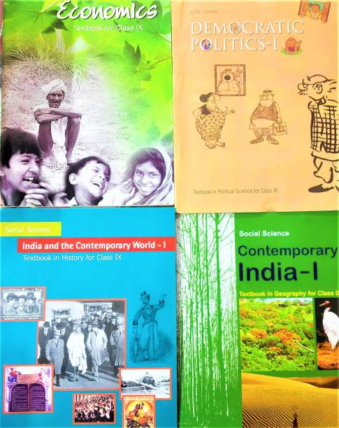History + Geography + Politics + Economics NCERT For Class 9