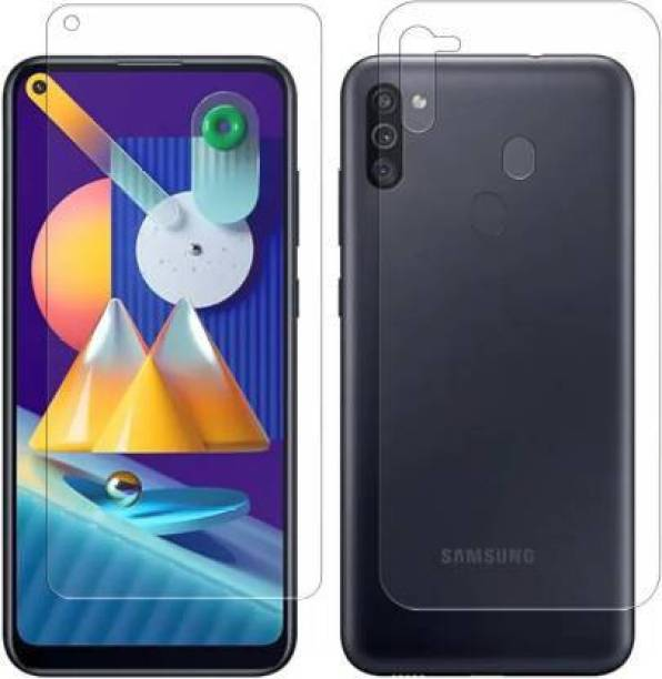 PR SMART Front and Back Tempered Glass for Samsung Galaxy M11