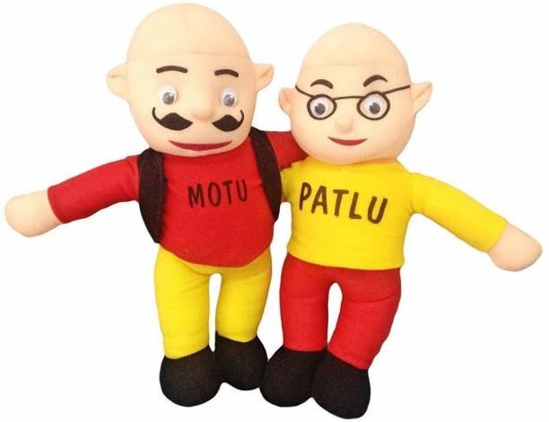 ANKITA ENTERPRISES Motu Patlu Soft Toy For Kids, Girls & Children Playing Teddy Bear Long  - 38 cm