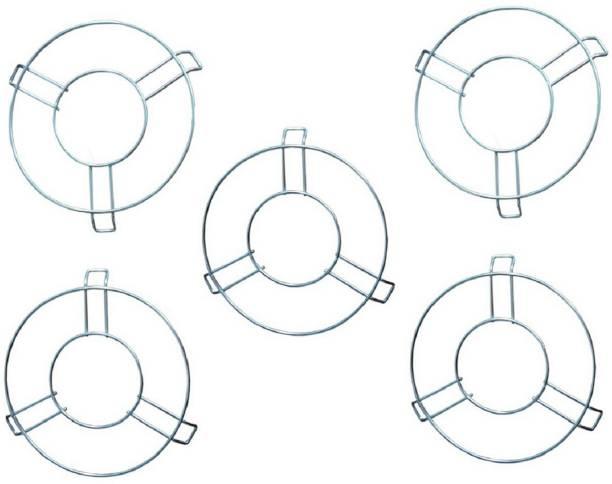 PRAPTI STEEL TRIVET PACK OF 5 GLOSSY Trivet
