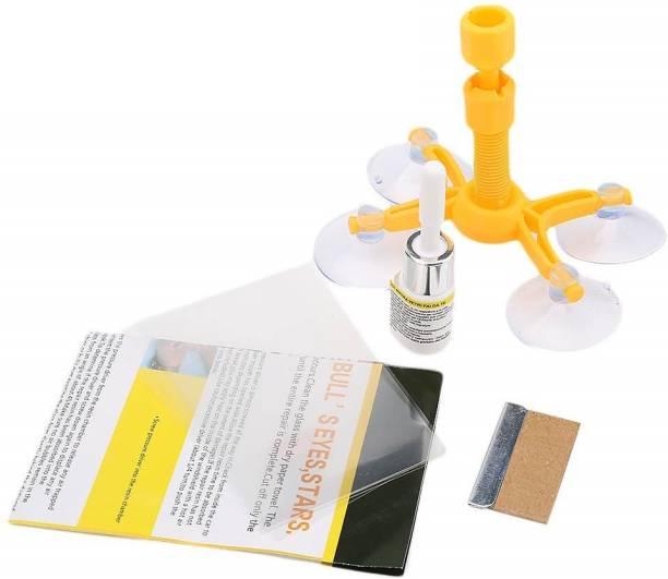 Abhsant Windshield Glass Wind Screen Car Crack Premium Windscreen Repair Kit Windshield Repair Kit