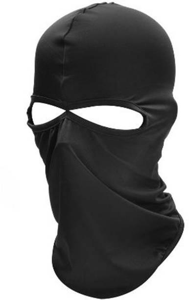 RKPM HOMES Black Bike Face Mask for Men & Women