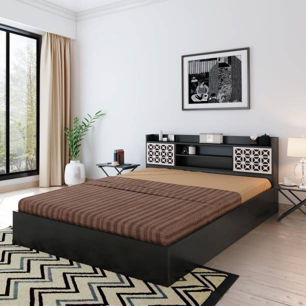 Bharat Lifestyle Brazil Engineered Wood Queen Box Bed
