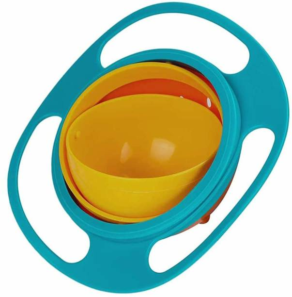 DALUCI Universal 360 Rotate Funny Toys Baby Gyro Feeding Toy Bowl Dishes Kids Boy Girl Spill Proof Bowl
