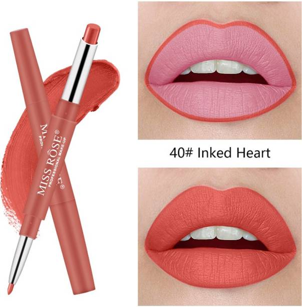 MISS ROSE This is for You 2 in 1 Lip Liner Lipstic By (40) - Pack of 1