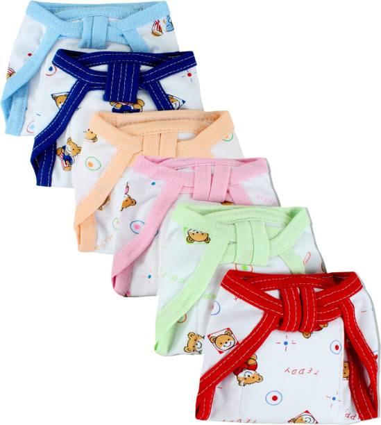 Honey Boo New Born Baby Cotton Hosiery Padded Premium Quality U Shape Nappies, Washable & Reusable Langot Cum Cotton Diaper Nappy