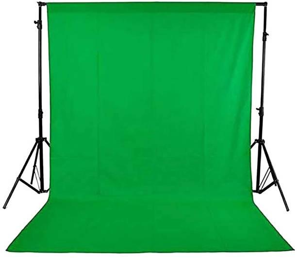 Hanumex Green Backdrop 8 X 10.5 Feet Lycra Cloth Background For VFX Editing Reflector
