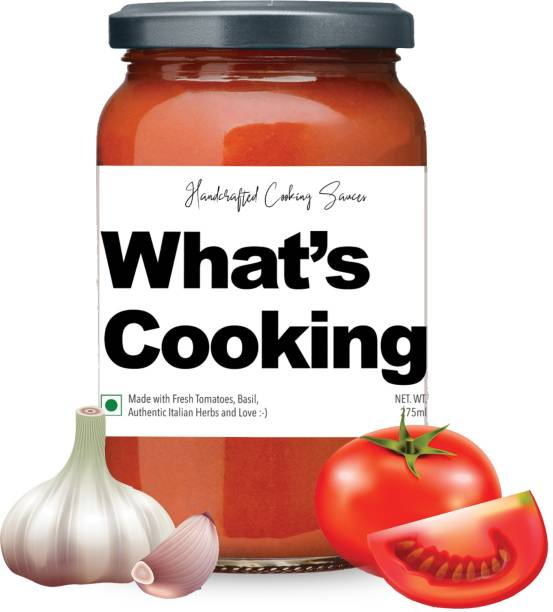 What's Cooking Tomato & Basil Pasta Pizza Red Sauce Sauce