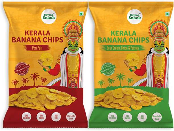 Beyond Snack Flavoured Savoury snacks from Banana