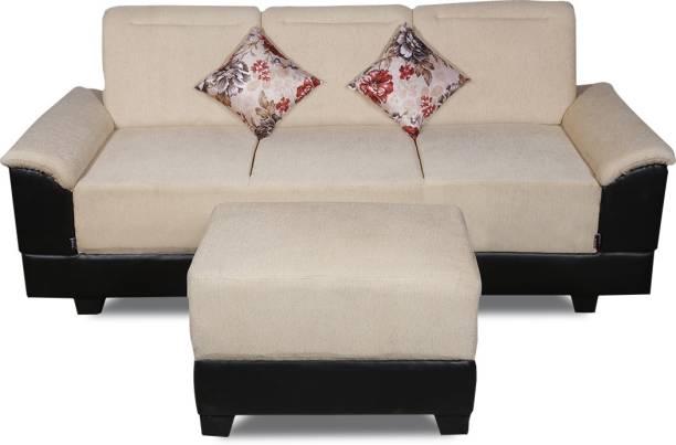ELTOP Lifestyle Nano Fabric 4 Seater  Sofa