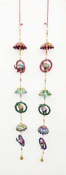 Brothers creation Handicraft Rajasthani Elephant Hanging Toran 2 Line Door Hanging Toran Toran