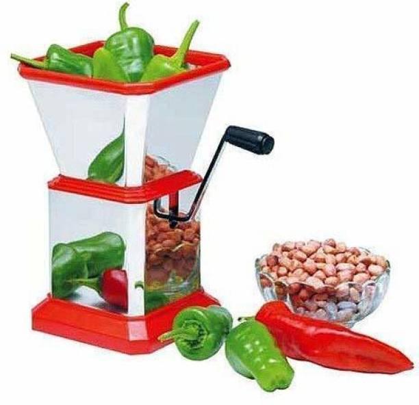 JTON KITCHENWARE CHILLI CUTTER SS Vegetable Chopper Vegetable & Fruit Chopper