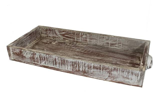 indian crafts Distress White & Brown Furniture & Decoration
