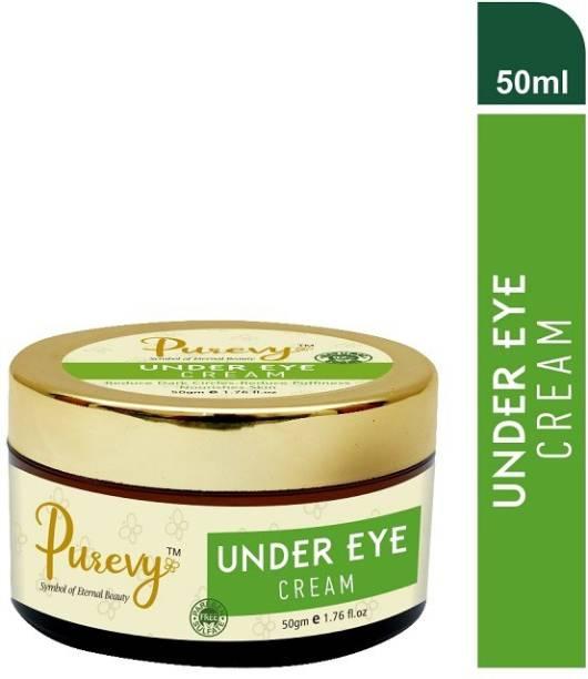 PUREVY UNDER EYE CREAM Reduce Dark Circles - Reduce Puffiness Nourishes Skin