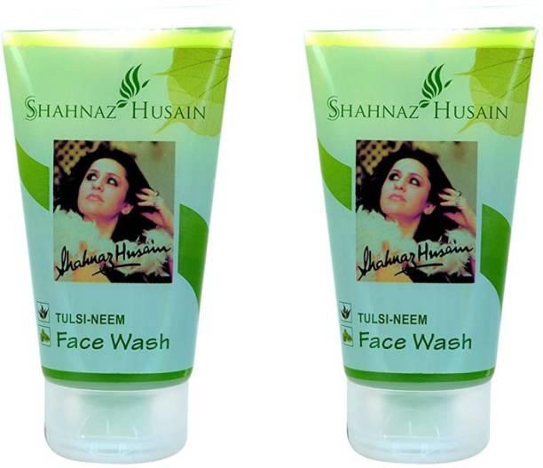 Shahnaz Husain Tulsi Neem  (Pack of 2) Face Wash