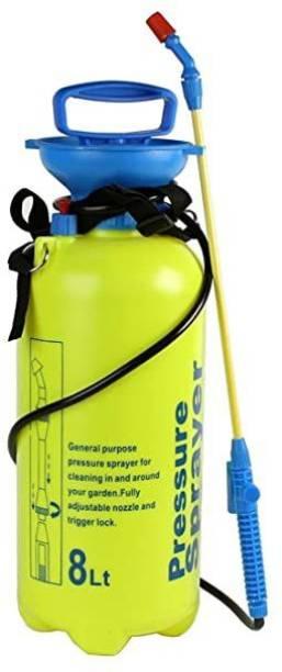 Sukreeti High Quality Manual Pressure Sprayer - 8 ltr 8 L Tank Sprayer
