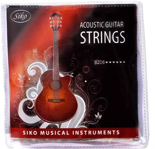 Siko Acoustic Bronze Acoustic Guitar Strings Set (6 Strings) Guitar String