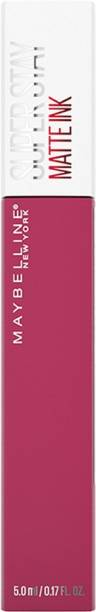MAYBELLINE NEW YORK Super Stay Matte Ink Liquid Lipstick, Savant, 5g