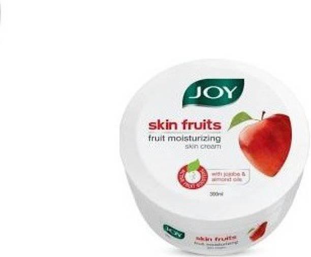 Joy skin fruits fruit moisturizing skin cream active fruit boosters with jojoba and almond oil