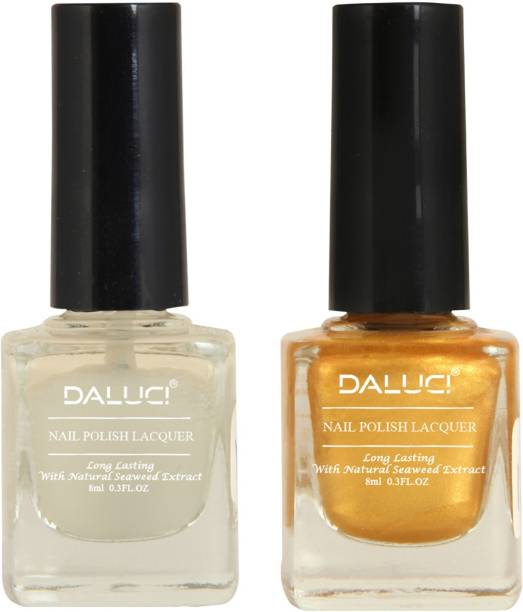 DALUCI Exclusive Color Range Nail Polish Set for Women Starry Yellow