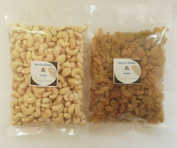 Sky Golden Raisins And Tasty Cashews Raisins, Cashews