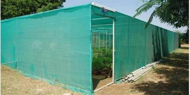 TRENDING CHOICE 20x5 50% UV Protect Plastic Evergreen Agro Green Shade Net with Gripping Clip Portable Green House (Green) Portable Green House