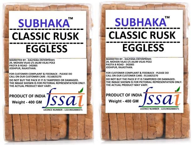 SUBHAKA PREMIUM QUALITY - RUSK / TOAST NA flavored Milk Rusk