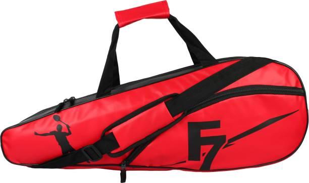 DEE MANNEQUIN Red Leatherite Badminton Kit Bag