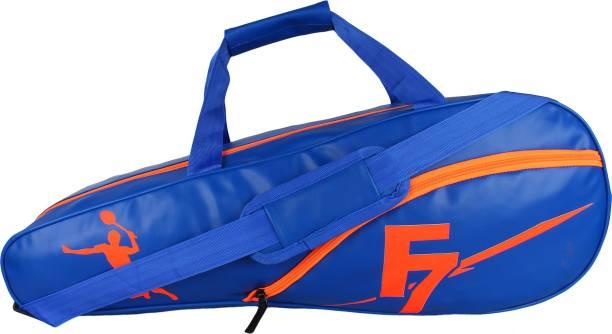 DEE MANNEQUIN Blue Leatherite Badminton Kit Bag