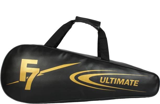 DEE MANNEQUIN Black Leatherite Badminton Kit Bag