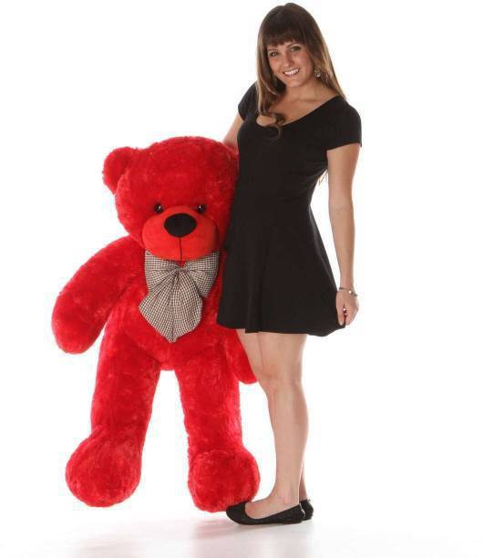 Mrbear Red teddy bear for gifts (some one )  - 90 cm