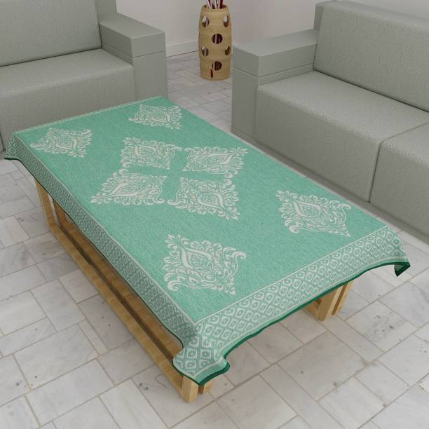 S N TRADERS Self Design 4 Seater Table Cover