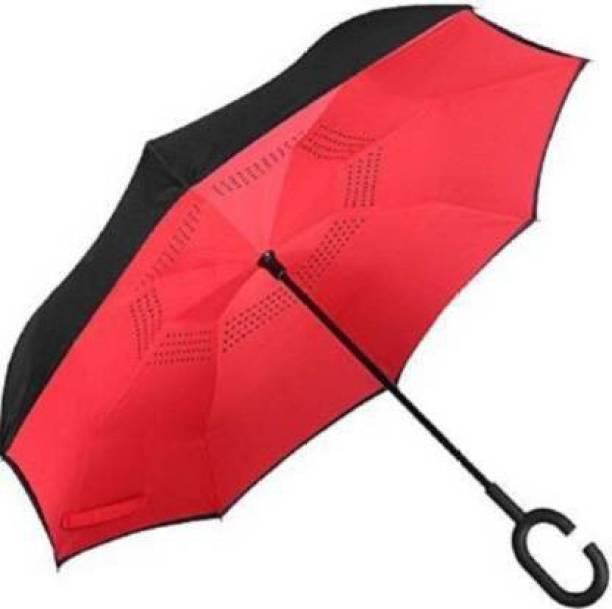 sutariya brothers Double Layer Reversible No Drip Umbrella with C Shape Handle Sun Umbrella