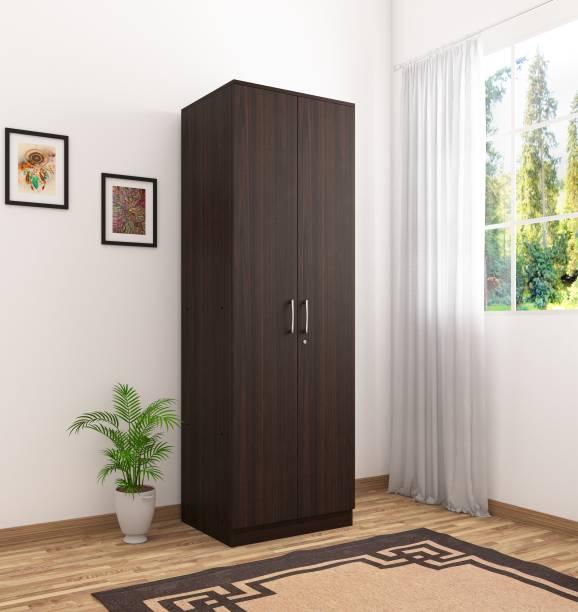 Okra Vega Engineered Wood 2 Door Wardrobe