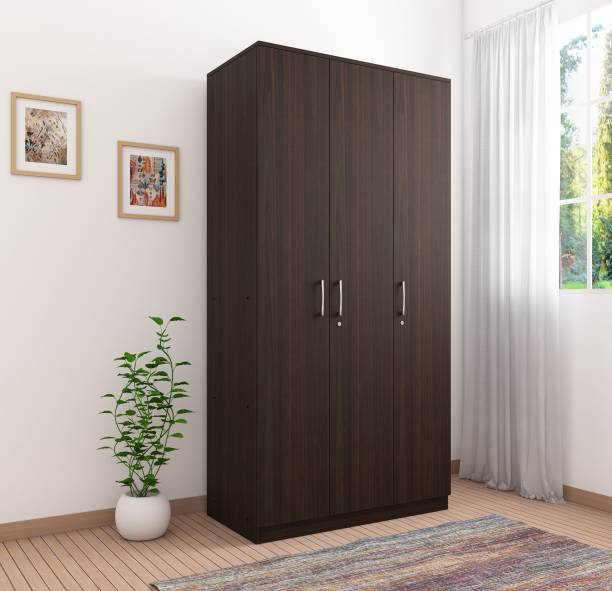 Okra Vega Engineered Wood 3 Door Wardrobe