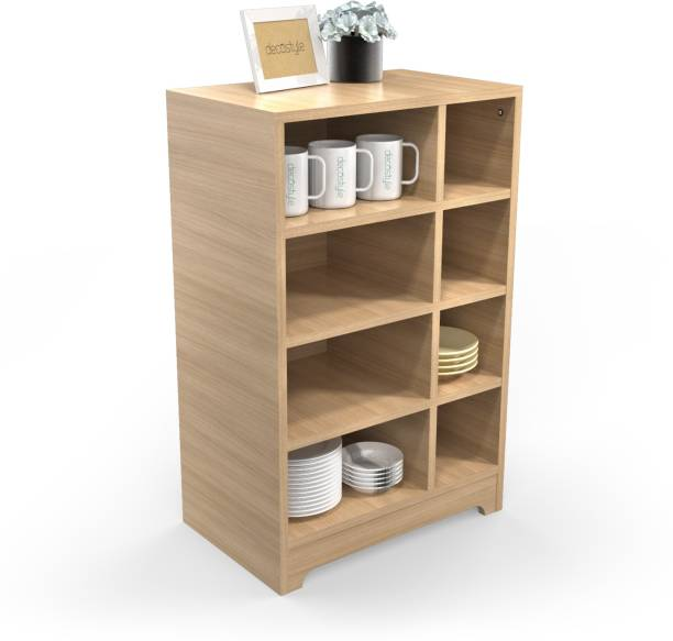 HomeStrap Trends Engineered Wood Free Standing Cabinet
