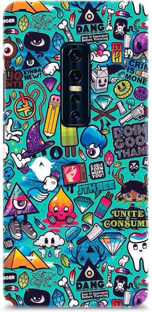 Roochyam Back Cover for Vivo V17 Pro (Stickers)
