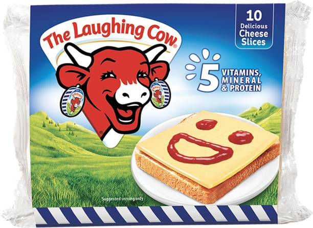 The Laughing Cow Plain Processed cheese Slices