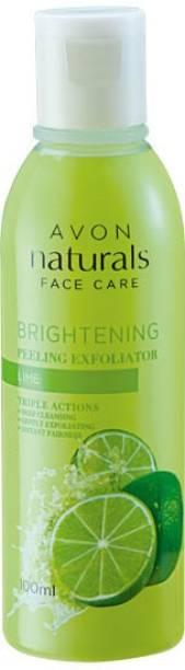 AVON Naturals Lime Peeling Exfoliator Face Wash