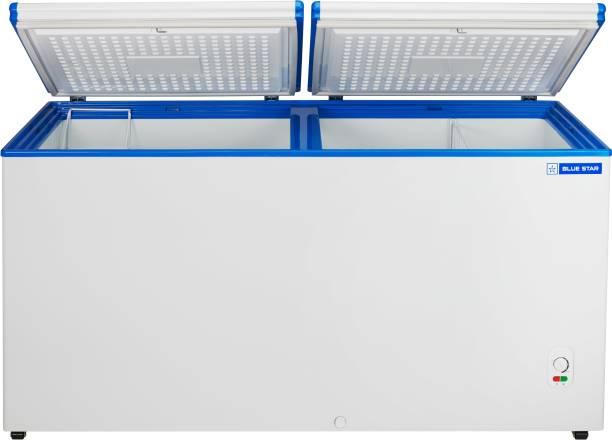 Blue Star 401 L Double Door Standard Deep Freezer