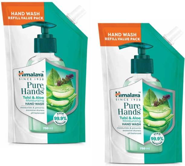 HIMALAYA Pure Hands Tulsi & Aloe Hand Wash Hand Wash Refill Pouch