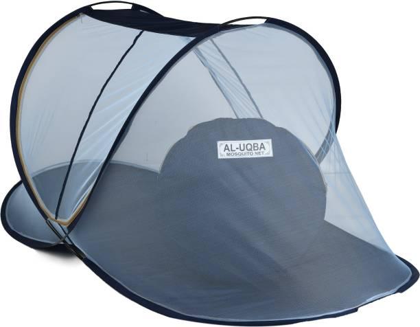 AL-UQBA Polyester Adults Folding Single Bed Mosquito Net Mosquito Net