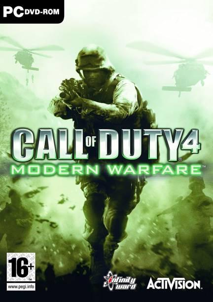 CALL OF DUTY 4 MODREN WARFARE (OFFICIAL PC GAME)