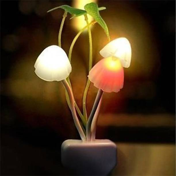 TIAARA COLLECTIONS Auto On/Off Vase Color Changing LED Sensor Night Lamp (LED Vase, Power Saver)pack of 1 Night Lamp