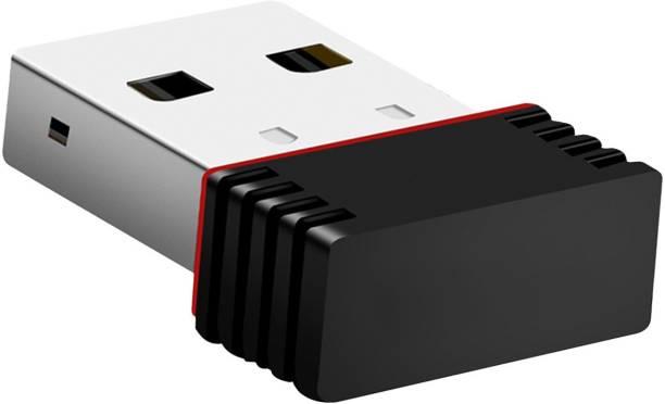 Gizga 150Mbps Wi-Fi Receiver, 2.4GHz, 802.11b/g/n USB 2.0 Wireless Mini USB Adapter
